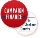 Campaign Finance Button Graphi