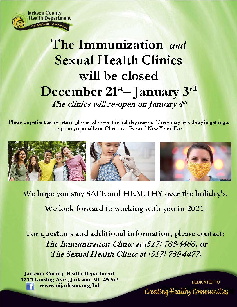 IMMS SEXUAL HEALTH Closure