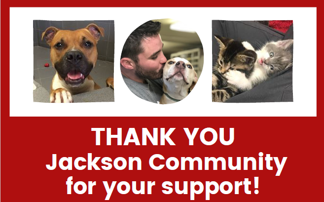 Thank You Jackson Community For Your Support