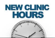 New Clinic Hours
